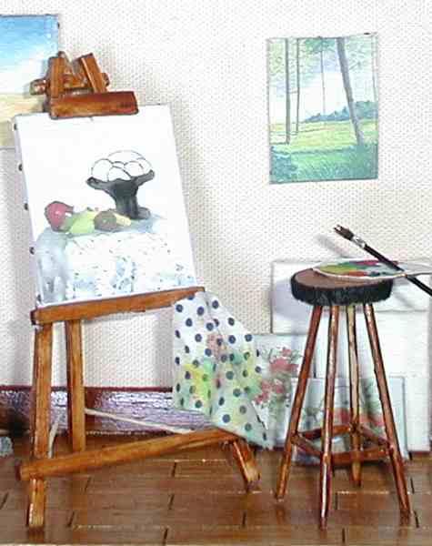 L 39 atelier du peintre - Atelier artiste peintre ...